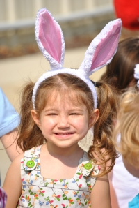 My own personal Easter Bunny!