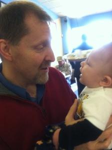 Papa and his boy!