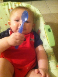 """Mummy, I gots the SPOON!"""