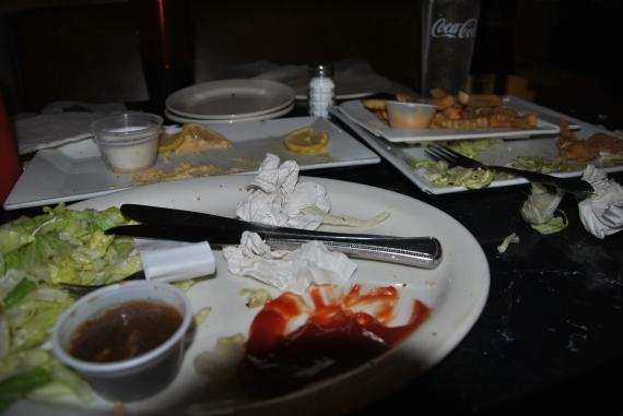Empty Plates!