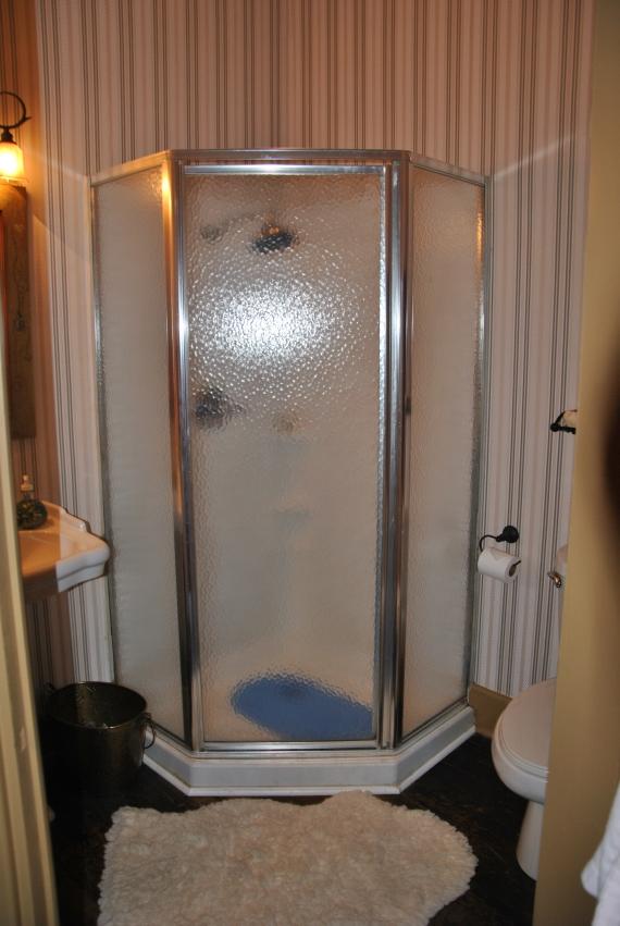 Our private bath.