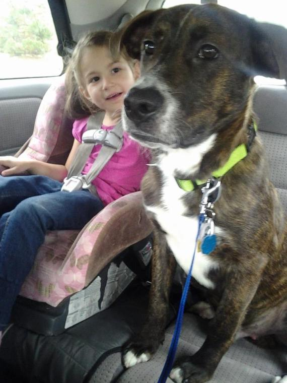 Reuben on his Freedom Ride with his new Little Girl by his side!