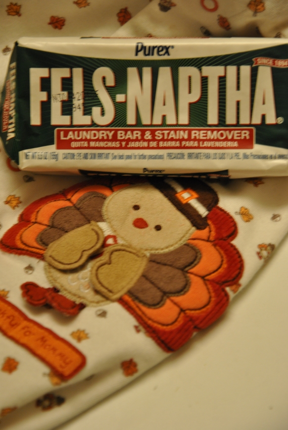 I'm Thankful for Purex Fels-Naptha!