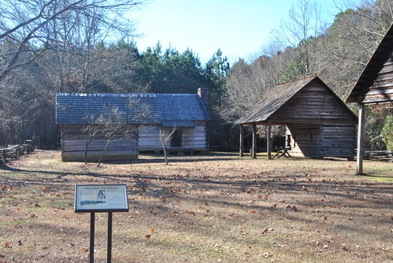 Buildings at New Echota