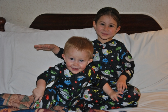 Matching Alien PJs!