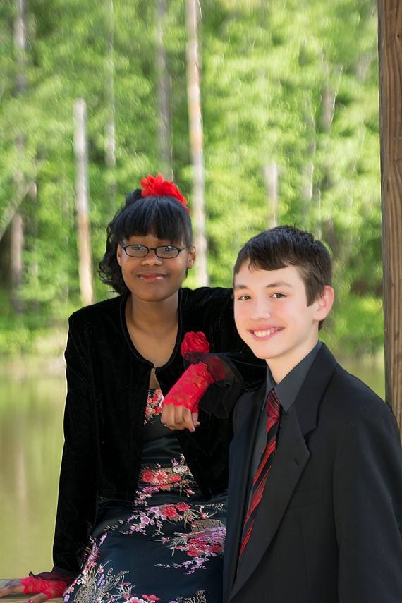 My sweet boy and his date.