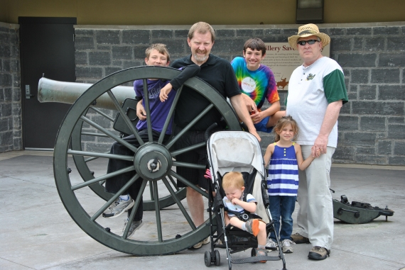 Gathered at the Stones River National Battlefield Visitor's Center.