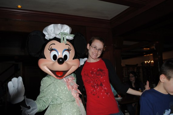 Minnie Mouse and Me in 2010