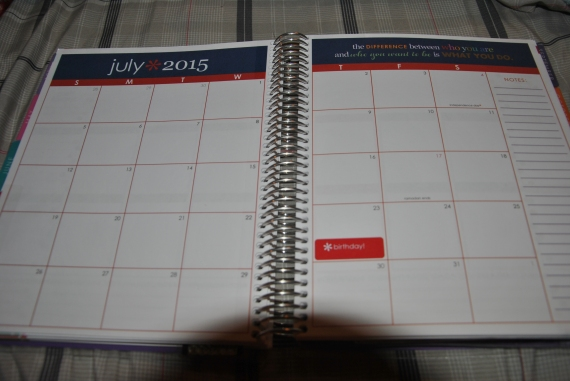 Blank Month
