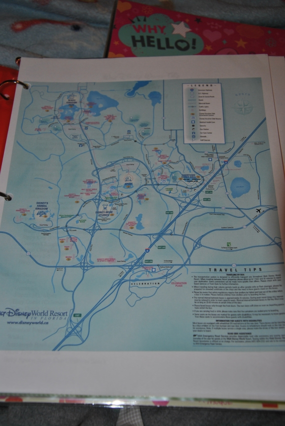 The WDW Map
