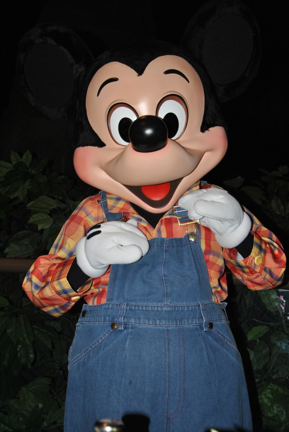 Farmer Mickey!  (The Garden Grill)