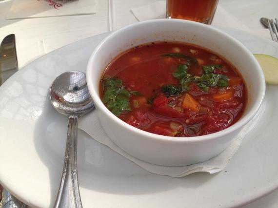 My Appetizer: Pasta Fagioli Soup