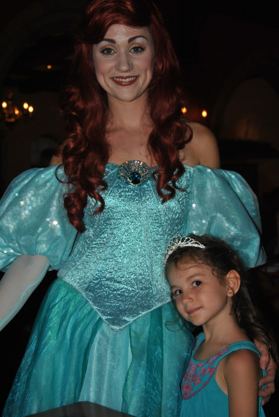 Ariel (in her Land Dress)