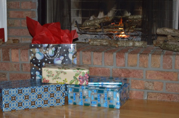 Gifts and the Fireplace